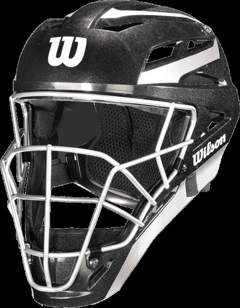 WTA5700BL Pro Stock Catchers Helmet black L/XL