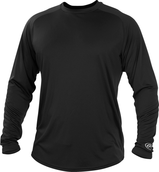YLSRT Youth Longsleeve Performance Shirt black