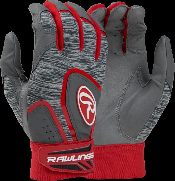 5150GBG Adult Batting Glove Pair scarlet