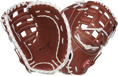 R9 R9SBFBM-17D Fastpitch First Base Mitt