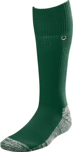 WTV4446 Solid Color Game Socks dark green