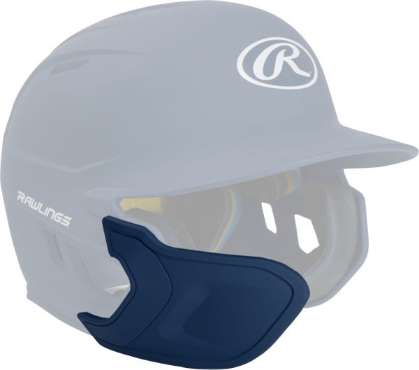 REXT-L Helmet Extension Left Handed Batter navy