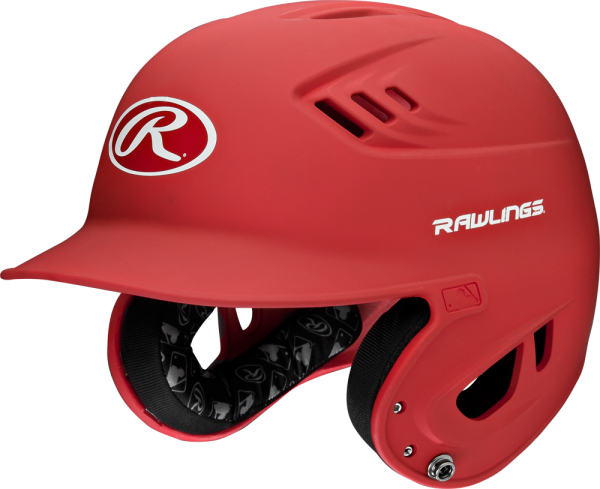 R16MS Senior Matte Adult Helmet scarlet