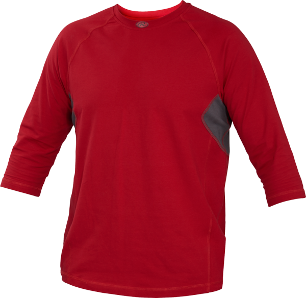 YRS34 Runner Youth Performance Undershirt scarlet