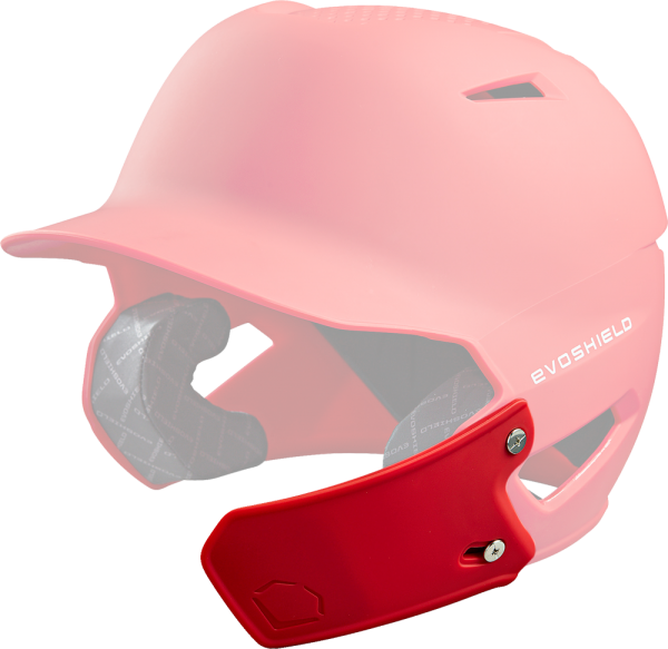WTV7305 XVT Helmet Extension RHH Right Handed Hitter scarlet